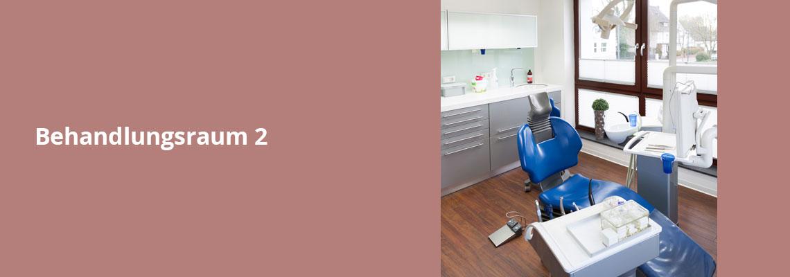 Behandlungsraum – Zahnarztpraxis Grychtol – Ihr Zahnärzte in der Ostenallee 80 in Hamm.