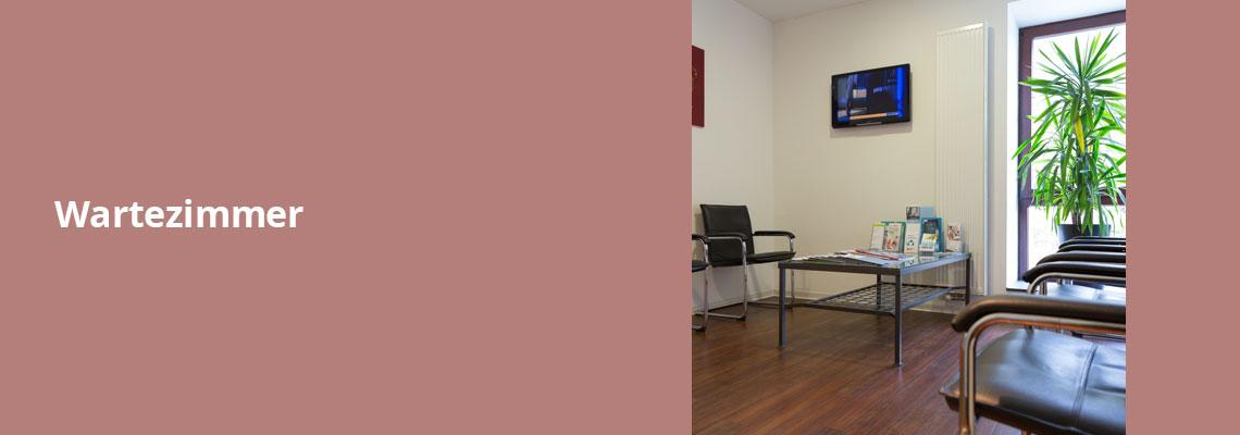 Wartezimmer – Zahnarztpraxis Grychtol – Ihr Zahnärzte in der Ostenallee 80 in Hamm.