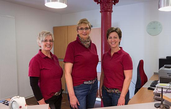 Team Anmeldung – Zahnarztpraxis Grychtol – Ihr Zahnärzte in der Ostenallee 80 in Hamm.